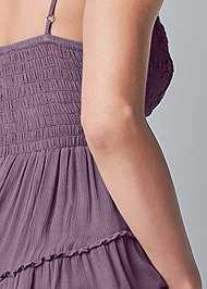 Alternate View Lace Detail Sleeveless Top