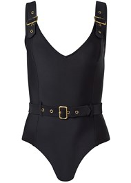 Alternate View Belted Strap One-Piece