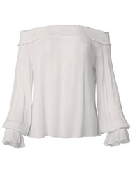 Alternate View Off Shoulder Cover-Up Top