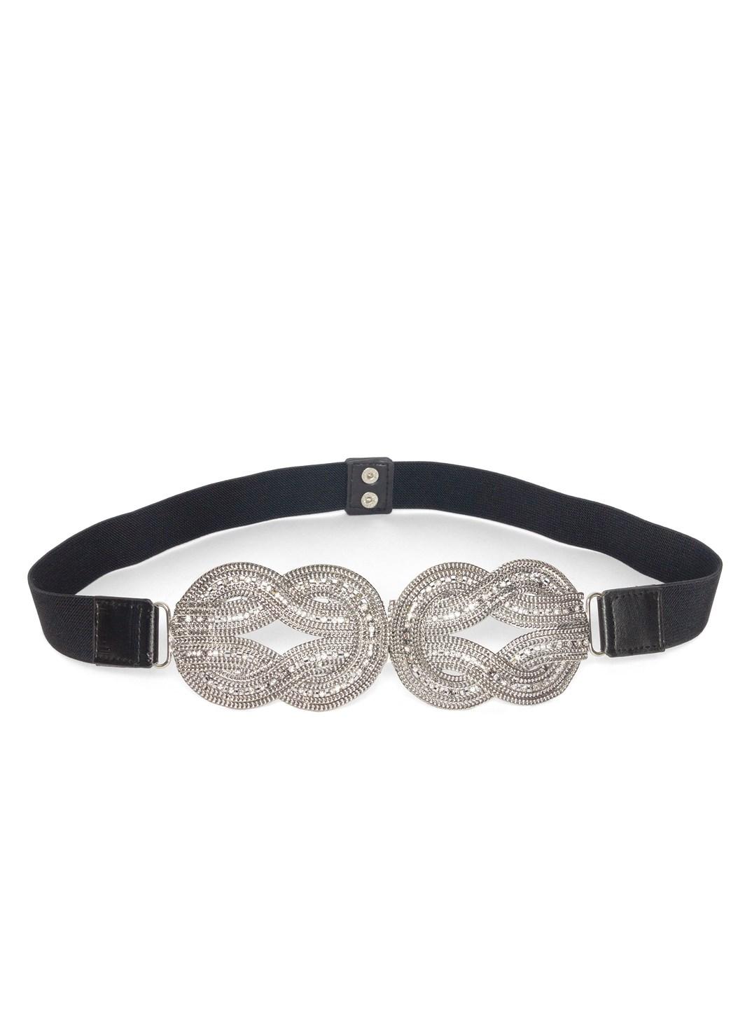 Embellished Stretch Belt