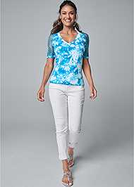 Full front view Seamless Top