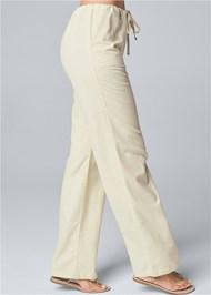 Waist down side view Drawstring Pants
