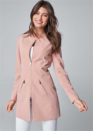 Zip Up Coat