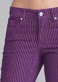 Alternate View Velvet Stripe Pants