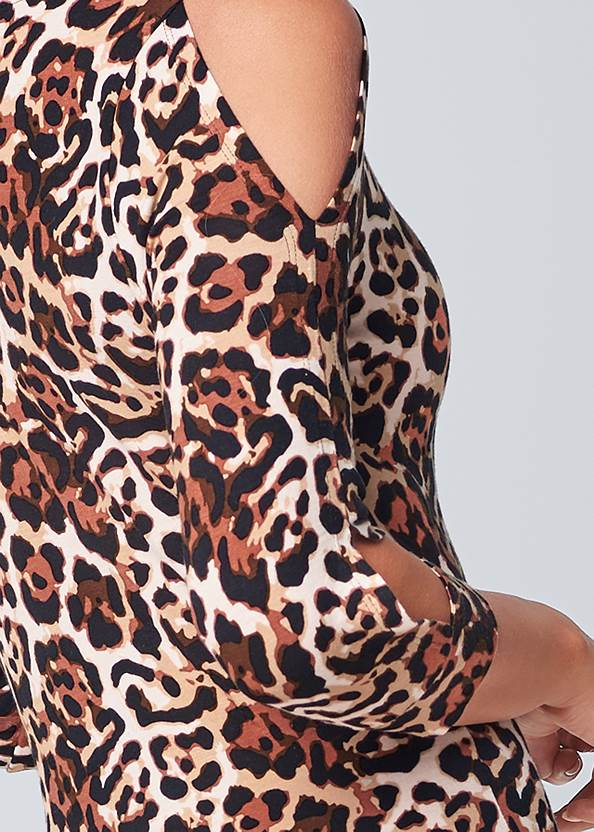 Alternate View Cut Out Detail Dress