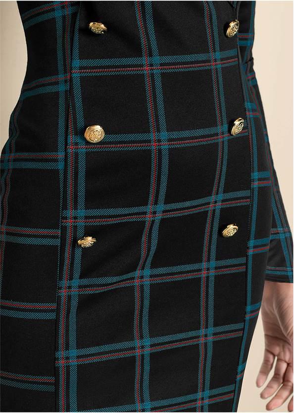 Detail  view Plaid Blazer Dress