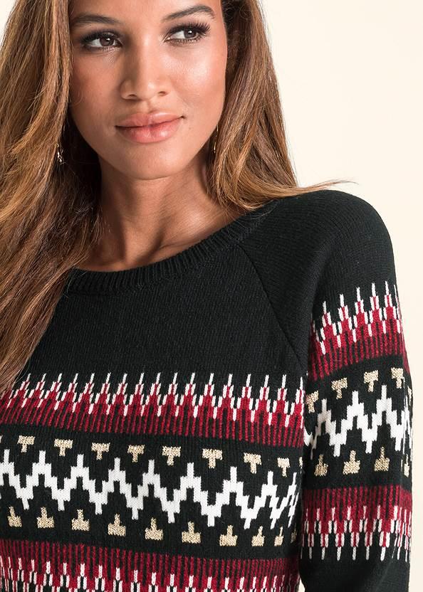 Detail  view Printed Sweater Dress