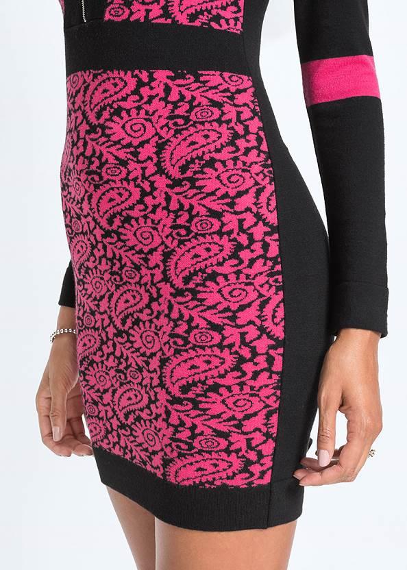 Detail  view Zip Detail Sweater Dress