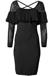 Alternate View Ruffle Sweater Dress