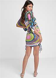 Alternate View Abstract Convertible Dress