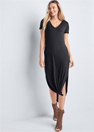 Alternate View Casual T-Shirt Maxi Dress