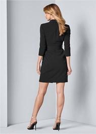 Back View Coat Dress