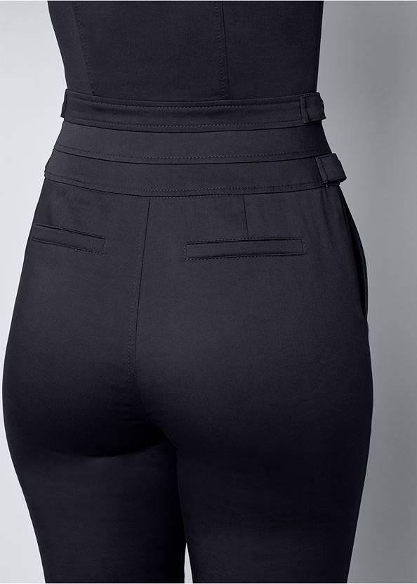 Alternate View Zip Front Jumpsuit