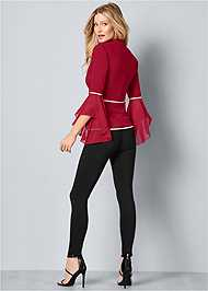 Back View Sleeve Detail Jacket