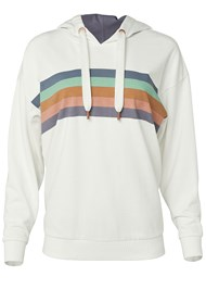 Alternate View Striped Detail Sweatshirt