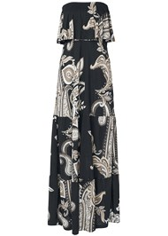 Alternate View Paisely Maxi Dress