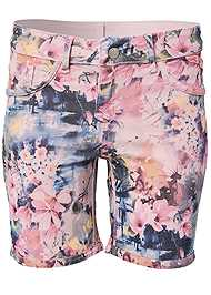 Ghost with background  view Reversible Shorts