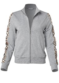 Alternate View Leopard Cut-Out Jacket