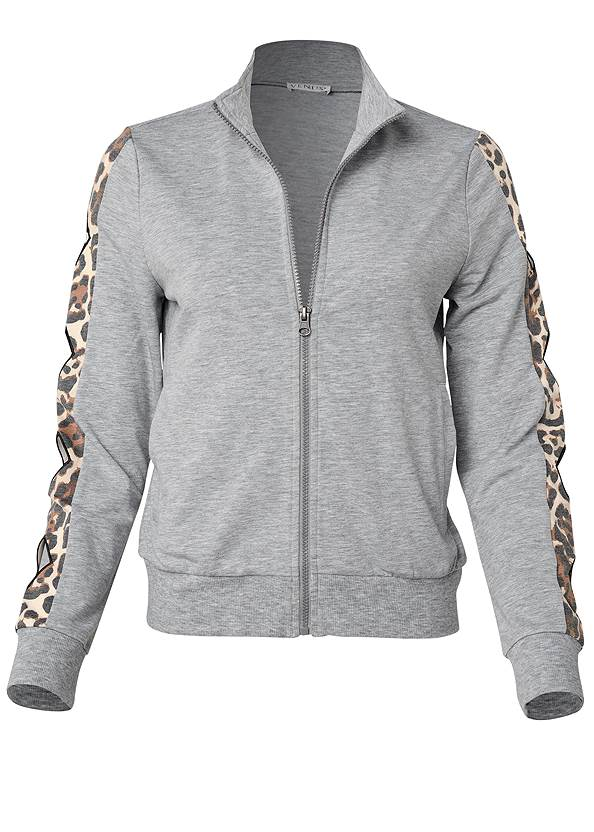 Alternate View Leopard Cut-Out Jacket
