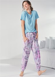 Full Front View Sleep Joggers