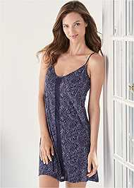 Detail front view Sleep Chemise