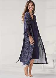 Alternate View Lace Detail Nightgown
