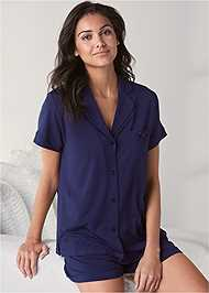 Cropped front view Sleep Short Set