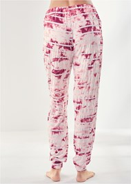 Waist down back view Printed Sleep Jogger