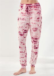 Waist down front view Printed Sleep Jogger