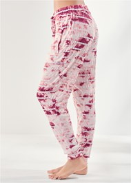 Waist down side view Printed Sleep Jogger