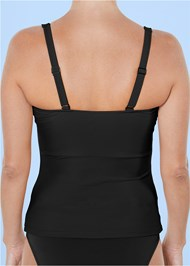 Alternate View Slenderizing Tankini Top