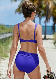 Back View Sustainable Twist Back Top