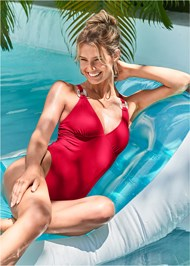 Front View Luxe One-Piece
