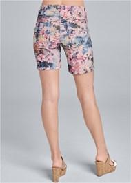 Waist down back view Reversible Shorts