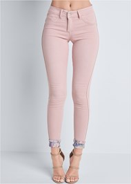 Front View Reversible Jeans