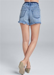 Alternate View Ripped Jean Shorts