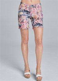 Waist down front view Reversible Shorts
