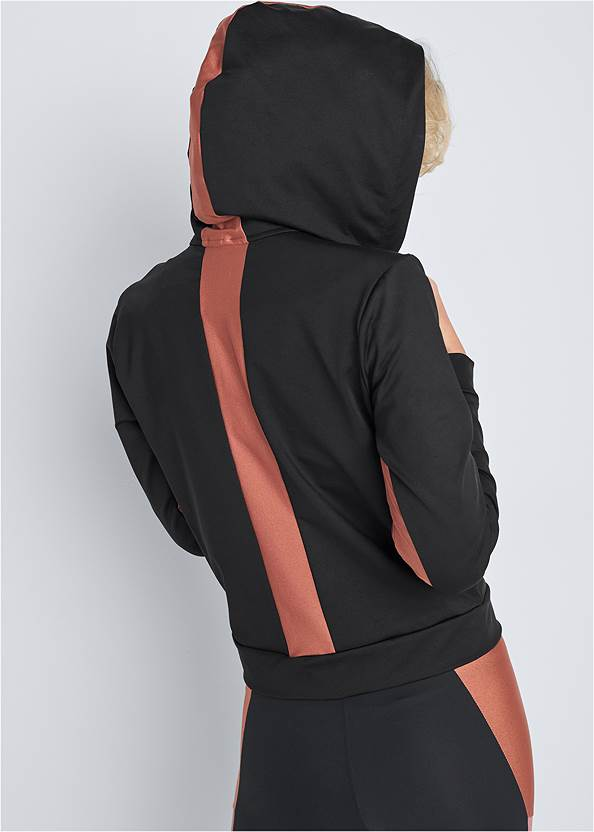 Alternate View Color Block Shine Jacket