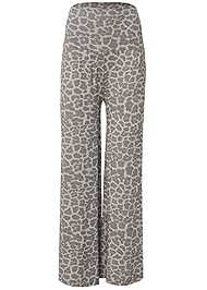 Ghost with background  view Palazzo Sleep Pant