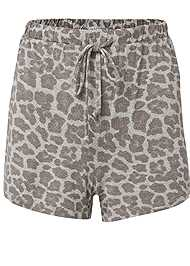 Ghost with background  view Sleep Shorts