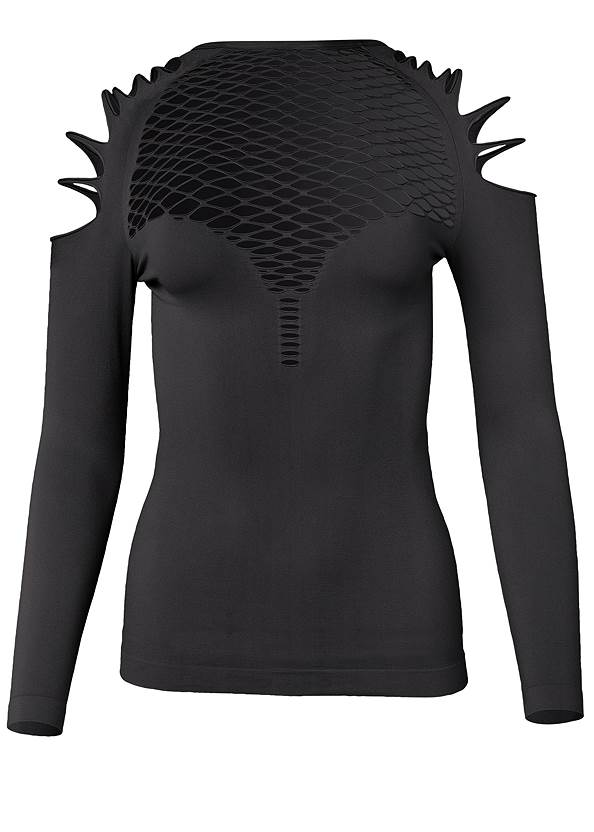 Ghost with background  view Strappy Seamless Top