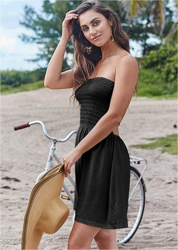 Strappy Cover Up Dress