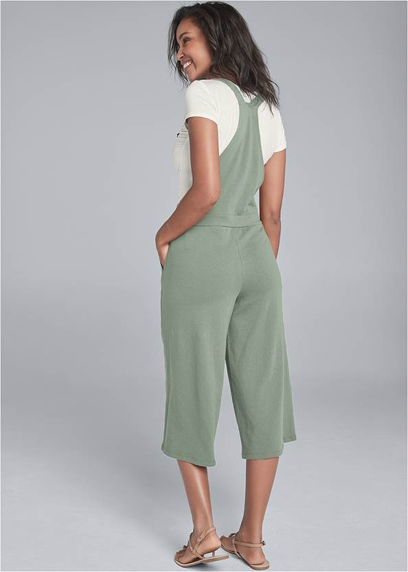 Back View Lounge Culotte Overalls