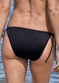 Alternate View Sequin String Bikini Bottom
