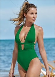 Cropped front view Jet Setter One-Piece