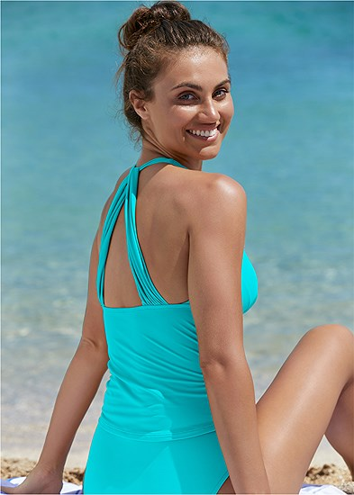 Smoothing V-Back Tankini