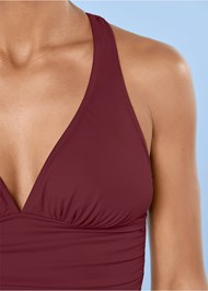 Alternate View Smoothing V-Back Tankini Top