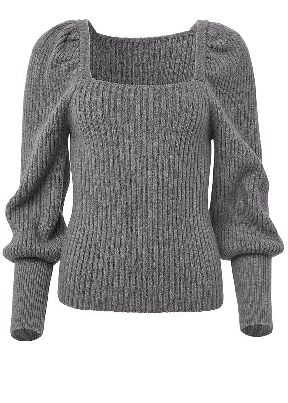 Alternate View Square Neck Sweater
