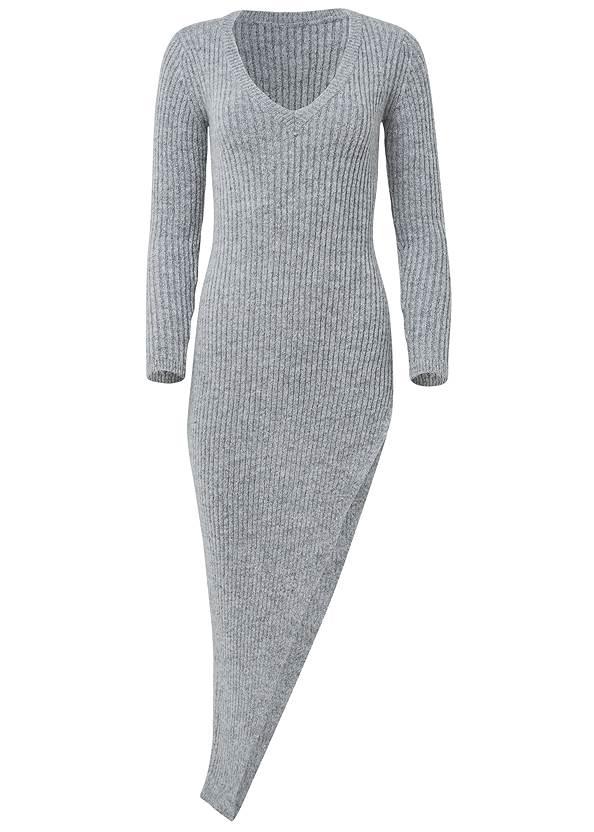 Alternate View Asymmetrical Maxi Sweater