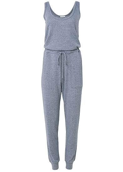 Plus Size Cozy Hacci Jumpsuit